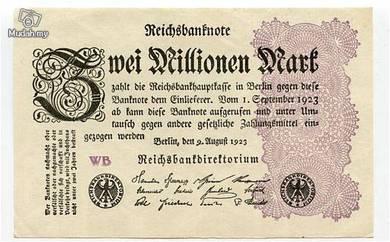 Germany 2000000 marks 1923 vf