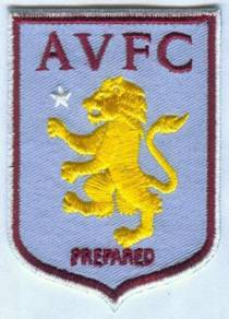 Aston Villa FC Football England Embroidered Patch