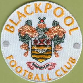 Blackpool F.C. Football England Embroidered Patch