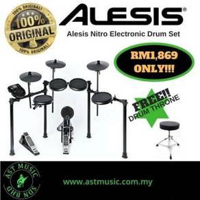 Alesis Nitro Electronic Drum free throne
