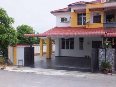 Double Sty Corner House-Taman Saujana,Batu Gajah