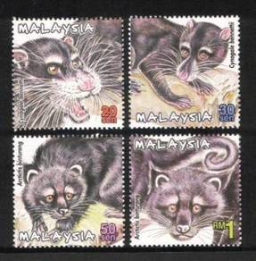 Mint Stamp Protected Mammals Series 2 Msia 2000