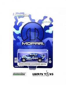 Greenlight 08 Dodge Charger SRT8 MOPAR #29961 Blue