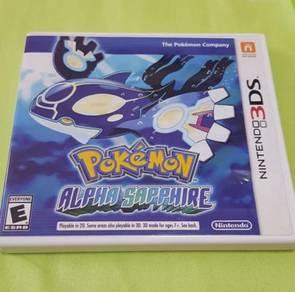 Pokemon Alpha Sapphire - Nintendo 3ds - Game