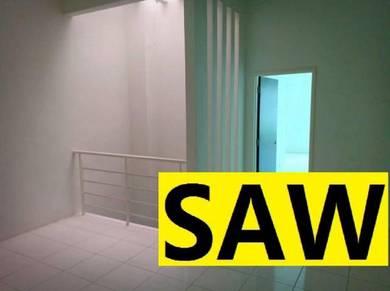 Sathu 2 Storey Terrace (Original unit) close Dua Villas Tree Residency