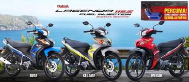 New Yamaha SRL Lagenda 115 Fi Injection
