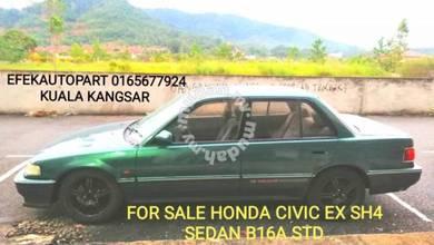 Honda Civic Ex Sh4 B16A Vtec Manual