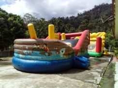 Pirate Ship Inflatable bouncer playground seremban