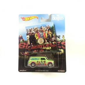 Hotwheels The Beatles Austin Mini Van '67