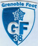 Grenoble Foot 38 French France Football Patch