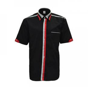 Corporate Uniform Male Black/Red/Grey U03-01