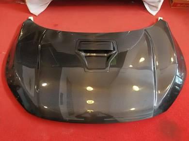 Honda civic x fc type r carbon fibre bonnet bonet