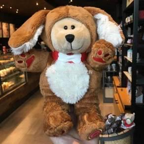 Starbucks 2018 Zodiac Dog Bearista Plush