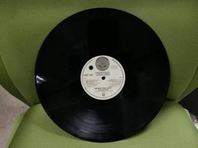 Piring hitam lp status quo 1981 Lama vintage ori