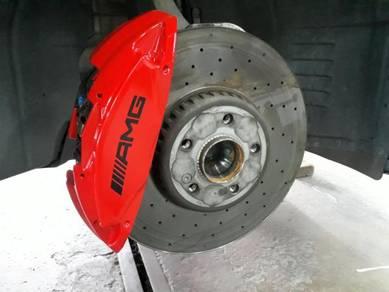 Spray Paint Brake Caliper AMG/ M/ Brembo Rim Spray