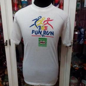 Vintage Malaysia Item TV3 FUN RUN 1991 T shirt