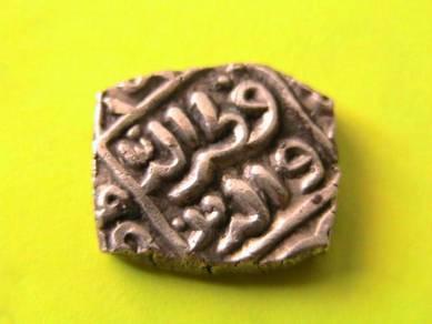 India- Delhi Sultan - Eight Gani-AH719 Square Coin