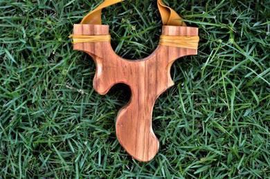 Catapult slingshot lastik theraband gold flat band