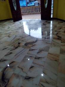Carpet shampooing/marble polish