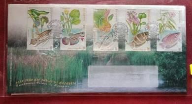 FDC Ikan Air Tawar Di Malaysia 1999