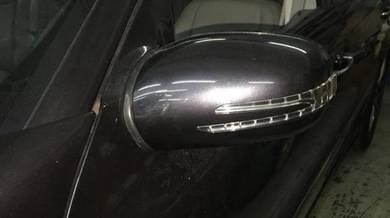 Mercedes w211 w203 w221amg style led mirror cover