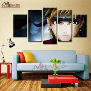 Naruto shippudden 5 in 1 wall poster