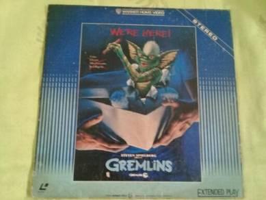 119 Laser disc GREMLINS not ep lp