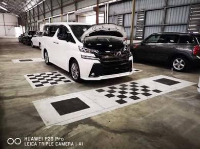 Toyota vellfire alphard oem anson HD 360 sony lens