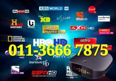 United 20000+ Fully HD Android Full TV Box new ipt