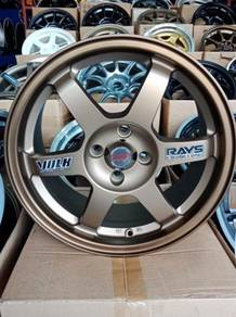 Rim 16 inch TE37 Copy Ori Auto Option Made In Thai