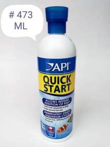 API Quick Start 473ml Fish Aquarium Ikan Aquarium