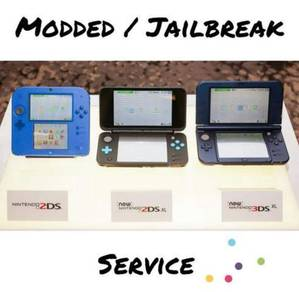 Nintendo 2DS and 3DS Modded Service