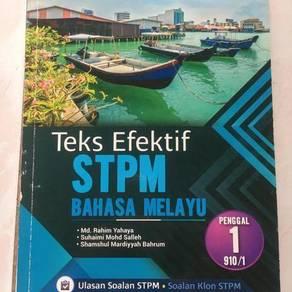 Bahasa Melayu STPM Penggal 1