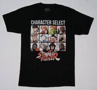 Street Fighter : Character Select Shirt (SIZE L)