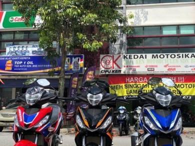 Honda rs150v2 !! promo depo bayaran kedai !!