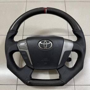 Toyota Vellfire Alphard Carbon Fiber Sport Steerin