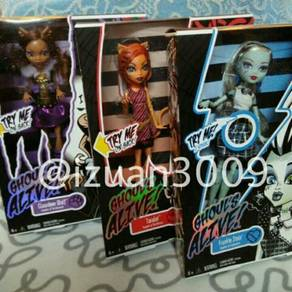 Monster High Ghouls Alive dolls