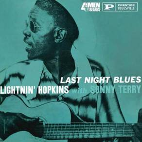Lightnin' Hopkins Last Night Blues 180g LP