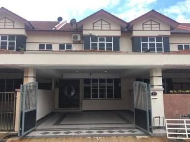 Indera Makhota 8- 2Storey Terrace House For Sale