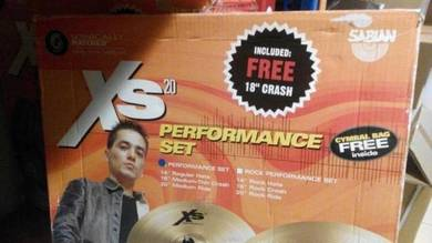 Sabian XS20 Performance Set Cymbal Pack