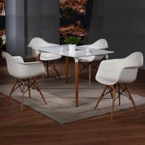 Dining Table And Chair Set YGRDS-848T854C Cheras