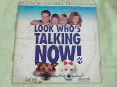119 Laser disc LOOK WHO'S TALKING NOW not lp ep