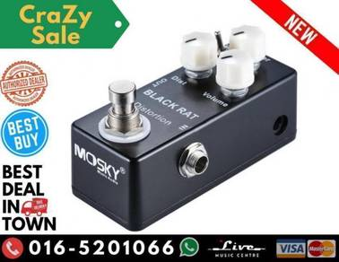 Mosky Black Rat Guitar Distortion Pedal Effect