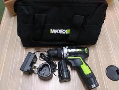 WORX Wu128 12V 2.0Ah Lithium-Ion Drill Driver