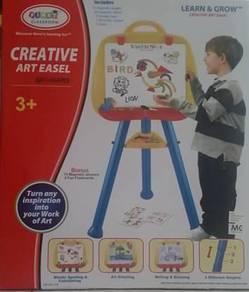 First Classroom Creative Art Easel (ABC + shapes)