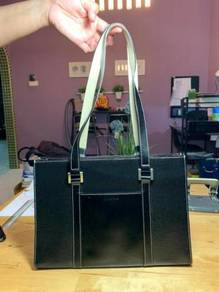 Louis fontaine leather handbag
