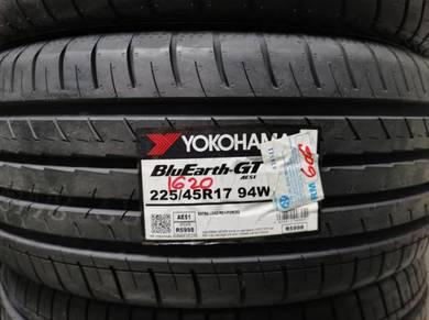 Tayar Baru Yokohama AE51 225 45 17 Tyre New 2020