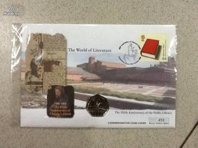 150th anniversary of the public library FDC
