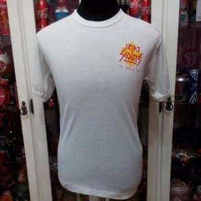 Vtg Malaysia 12 PJ Scouts La Salle Ringer T Shirt
