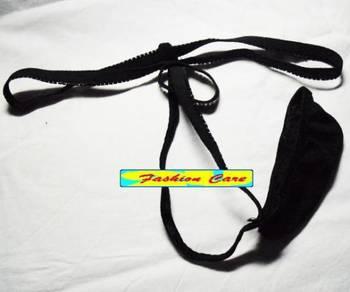 UM486 Sexy Black T-Back String Men's Underwear